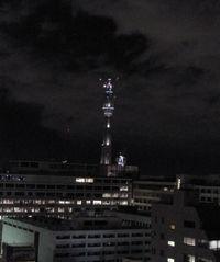 夜のスカイツリー
