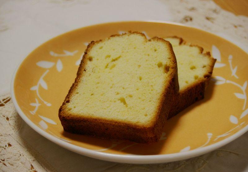 バニラケーキ