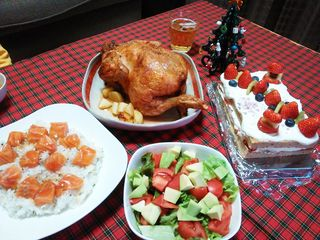 クリスマス2015_食卓